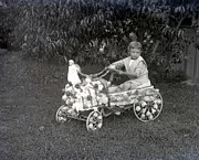 Peddle Car Photos - Buggy Boy by William Haggart