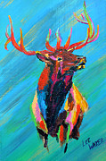 Rack Paintings - Bugle Boy by Lee Walker