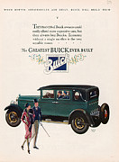 Featured Acrylic Prints - Buick 1927 1920s Usa Cc Cars Acrylic Print by The Advertising Archives