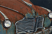 Grill Paintings - Buick Electra by John Wyckoff
