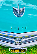 Fifties Automobile Prints - Buick Grill Print by Phil 