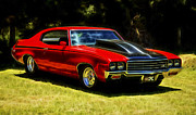 Buick Framed Prints - Buick GSX Framed Print by motography aka Phil Clark