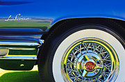 Buick Framed Prints - Buick LeSabre Wheel Emblem Framed Print by Jill Reger