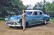 Horizontal - Buick Roadmaster - 1954 by Chuck Staley