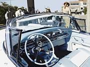 Buick Roadmaster 1957 Dash Print by Curt Johnson