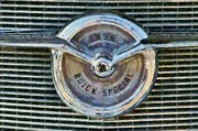 Buick Paintings - Buick Special 1956 badge by George Atsametakis