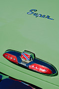 Buick Framed Prints - Buick Super Dina Flow Emblem Framed Print by Jill Reger