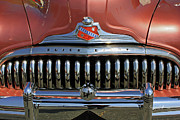Buick Grill Prints - Buick Super Eight Print by Suzanne Gaff