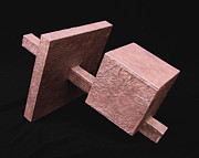 Square Sculptures - Building Blocks by Samantha Stutzman