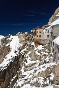 Midi Framed Prints - building in Aiguille du Midi - Mont Blanc Framed Print by Antonio Scarpi