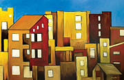 Ahmed Amir Metal Prints - Buildings Metal Print by Ahmed Amir