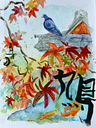 Project Painting Prints - Bukiyona hato Print by Beverley Harper Tinsley