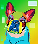 Bulldog  Print by Mark Ashkenazi