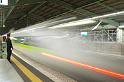 Train Station Photos - Bullet Train by Sebastian Musial