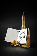 Bullet Photo Prints - Bullets For You Print by Carlos Caetano