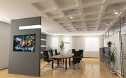 Nyc Art - Bullish Market Conference Room Showcase by Teshia Art