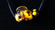 Torch Glass Art - Bumble Bee by Lee Hartsell
