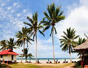Fototrav Print - Bungalow on paradise island