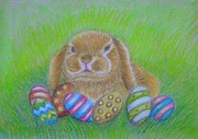 Easter Pastels - Bunny Easter by Thuraya R