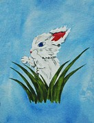 Ally Mueller - Bunny with Blue