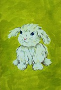 Ally Mueller - Bunny with Green