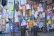 Buoys Photos - Buoys by Betsy A Cutler East Coast Barrier Islands