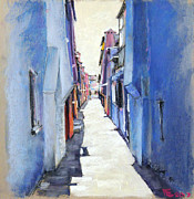Great Pastels - Burano by Viacheslav Rogin