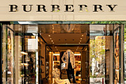 Shopfront Prints - Burberry Print by Rick Piper Photography
