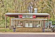 Local Food Photos - Burger Delight by Scott Pellegrin