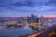 Allegheny Originals - Burgh at Blue Hour by Ziaur Rahman