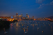 Upmc Metal Prints - Burgh at Blue Hours Metal Print by Ziaur Rahman