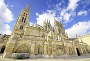 Medieval Temple Art - Burgos Cathedral. Famous Spanish Landmark. by David Herraez