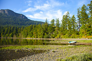Saltspring Photo Originals - Burgoyne Bay Beach by Graham Foulkes