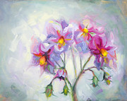 Impressionistic Oil Paintings - Buried Treasure by Talya Johnson