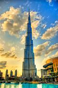 Burj Khalifa Print by Syed Aqueel