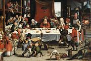 Famous Artists - Burlesque Feast by Jan Mandijn
