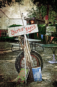 Shed Photo Prints - Burma Shave sign Print by RicardMN Photography