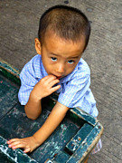 ArtPhoto-Ralph A  Ledergerber-Photography - Burmese Child Playing On...