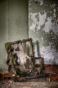 Interior Still Life Metal Prints - Burned Metal Print by Margie Hurwich