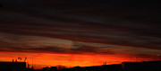 Burning Night Time Sky Photos - Burning Night Time Sky by John Telfer