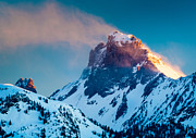 Nps Prints - Burning Peak Print by Inge Johnsson