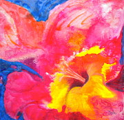 Color Mixed Media - Burst 2 by Debi Pople