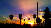 Palm Springs Airport Prints - Burst of Light Print by Chris Tarpening