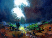English Paintings - Burst of Light by Neil McBride