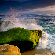 Windnsea Photos - Burst by Peter Tellone