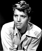 Movies Photo Framed Prints - Burt Lancaster Poster Framed Print by Sanely Great