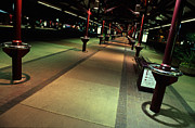 Joe Klune Metal Prints - Bus depot Metal Print by Joe Klune