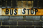 Busstop Prints - Bus Stop Print by Jeff Burton