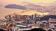 Pusan Prints - Busan South Korea Print by Sean Pavone