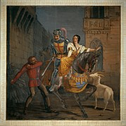 Medieval City Photos - Busato Giovanni, Phoebus Rescues by Everett